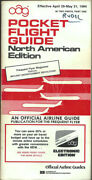 Oag Official Airline Guide North American Pocket Timetable 4/29/84 [1031]