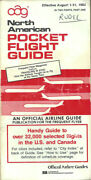 Oag Official Airline Guide North American Pocket Timetable 8/1/83 [1031]