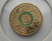 2016 Aust. Olympic,2 Dollar Coin,this Photo Is The Actual Coin You Purchase