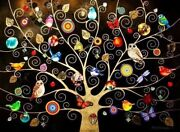 The Tree Of Life. Colour Gold .image Size 27 X 36 Inch Kerry Darlington Original