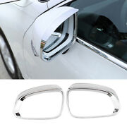 Fit For Volvo Xc40 2019-2021 Chrome Rear View Side Door Mirror Frame Cover 2pcs