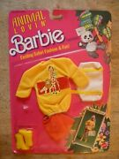 1988 Nos New Old Stock In Box Vintage Toy Doll Clothes Barbie Fashion Clothing