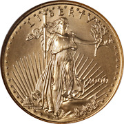 2000 Gold American Eagle 25 Ngc Ms70 Brown Label