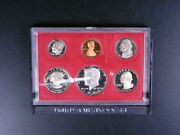 U.s. Coins - 1980 Mint Proof Set - 6 Coins Including Susan B. Anthony Gs32