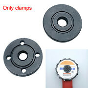 2pcs Round Electric Angle Grinder Replacement Flange Set Hardware Wood Carving