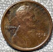 1912-s Lincoln Wheat Cent Idgg664