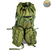 Special Forces Army Tactical Backpack Military Rucksack Green 80-100l New