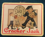 Cracker Jack Lunch Box 2001 Tin Vintage Recot Inc Any Hour Of The Day