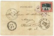 Jamaica 1902 Myrtle Bank Cancel In Violet On Postcard To Puerto Rico