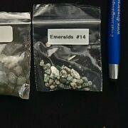 Authentic Emeralds 14 , From Coin And Shipwreck Antique Shop In St Augustine,fl.