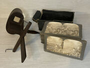 Antique Ww1 Stereoview Cards 55 Cards W/ Viewer - Keystone View Co 1910-1919