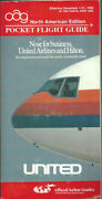 Oag Official Airline Guide North American Pocket Timetable 12/1/90 [1031]