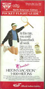 Oag Official Airline Guide North American Pocket Timetable 5/1/90 [1031]