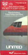 Oag Official Airline Guide North American Pocket Timetable 8/1/90 [1031]