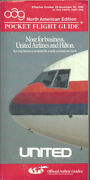 Oag Official Airline Guide North American Pocket Timetable 10/28/90 [1031]