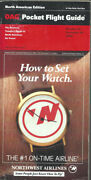 Oag Official Airline Guide North American Pocket Timetable 10/25/92 [1031]