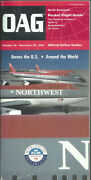 Oag Official Airline Guide North American Pocket Timetable 10/30/94 [1031]