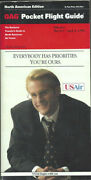 Oag Official Airline Guide North American Pocket Timetable 3/1/92 [1031]