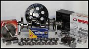 Sbc Chevy 427 Assembly Scat And Wiseco -18cc Dh. 4.125 Pistons 2pc Rms-350 Mains