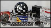 Sbc Chevy 406 Assembly Scat Crank 6 Rods Wiseco -13.5cc Dh 4.155 Pistons 350mj