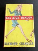 1943 Raymond Chandler First Edition The High Window Rare With Original Jacket
