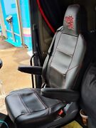 Scania Seat Covers. Smooth Leather And Diamond ..great Quality .rhd And Lhd New