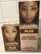 Lighten Up Plus Lightening Body Lotion And Soap Fast Action Results In 7 Days