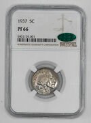 1937 Proof Buffalo Nickel 5c Ngc And Cac Certified Pf 66 001
