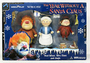 Palisades Toys The Year Without A Santa Claus - Heat Miser Set
