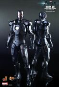 Dhl 1/6 Hot Toys Mms282 The Avengers Iron Man Mark Vii Stealth Mode Ver Figure