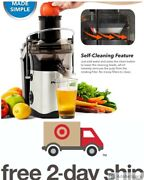 New Powerxl Self-cleaning Juicer Centrifugal Juice Extractor As Seen On Tv Seale