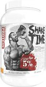 5 Nutrition Shake Time Post Workout Protein 25 Servings Vanilla Cinnamon