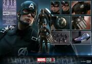 Hot Toys 1/6 Scale Captain American Concept Version Opened Items