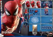 Hot Toys 1/6 Scale Spiderman Game Version Opened Items