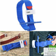 Emergency Tourniquet One Hand Application First Aid Rapid Stop Bleeding Buckle