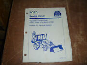 Ford New Holland 575d 655d Tractor Loader Backhoe Electric Service Repair Manual