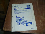 Ford New Holland 655d Tractor Loader Backhoe Hydraulic Service Repair Manual