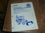 Ford New Holland 675d Tractor Loader Backhoe Hydraulic Service Repair Manual