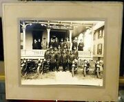 Early 1900and039s Bergen County Police New Jersey Indian Motorcycle 8x10 Photograph