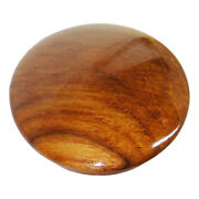 Boat Steering Wheel Center Cap And Teak Wood New Face 2-1/2 Glossy Finish