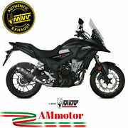 Exhaust Muffler Mivv Honda Cb 500 X 2020 20 Oval Carbon Cap Motorcycle Approved