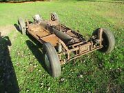1969 Volkswagen Beetle Rolling Chassis With Transmission
