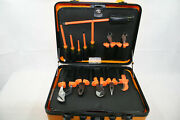 New - Klein Tools 33525 13pc 1000v Insulated Hot Work Tool Kit With Case