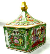 Great Rare Antique Russian Porcelain Bowl With Cover Russianu.s.s.r Porcelain