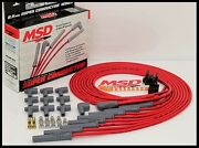 Msd Super Conductor Universal Wires Red, Straight Boots. Msd-31189