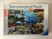 3000 Pieces Jigsaw Puzzle Ravensburger Oceanic Wonders Very Rare Puzzle