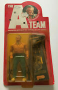 Vintage The A-team Hannibal 6andrdquo Action Figure Moc New Galoob 1983