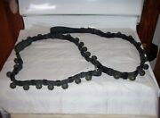 Antique Horse Carriage Sleigh Bells/leather Strap 30 Brass Bells