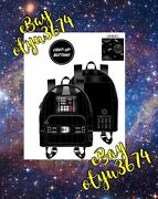Lights Up Loungefly X Star Wars Darth Vader Cosplay Mini Backpack Confirmed