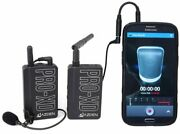 Azden Digital Wireless Microphone Kit Pro-xd With Iphone And Android Phone Adapter